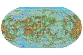 Terrain Map First Global Mercury Map Shows Its Hills And Valleys In Detail