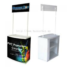 portable photo booth selangor pvc promotion counter popup counter roadshow booth