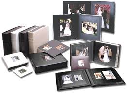 wedding picture albums leather wedding albums futura onxy wedding photo album