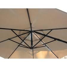Patio Umbrella Fabric by Garden Treasures Ag Umbrella Replacement Canopy Garden Winds