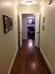 narrow hallway no windows and no light help