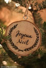 personalized wood slice ornaments gifts hometalk
