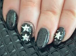diy manicure star studded night sky nails with video