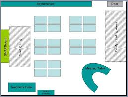Classroom Layout Template | free downloadable basic classroom seating chart template from the