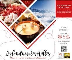 cours de cuisine halles de lyon les halles de lyon fondues de fondues