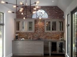 White Brick Backsplash Kitchen - kitchen backsplash faux brick wall brick tiles faux brick