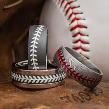 baseball wedding ring sports wedding rings baseball football basketball rings