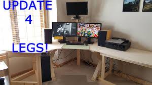 ultimate computer desk setup part 4 youtube
