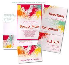 bas mitzvah invitations splash bat mitzvah invitation