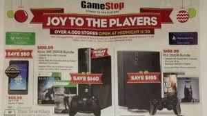 xbox 1 gamestop black friday black friday gamestop deals include 200 ps3 or xbox 360