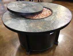 Ow Lee Fire Pit by 42 U201d Ow Lee Santorini W Lazy Susan U2013 Outdoor Living And Spas