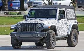 jeep smoky mountain white 2018 jeep wrangler spy photo pictures photo gallery car and
