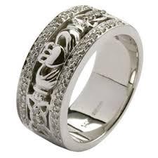 claddagh wedding ring set wedding sets celtic wedding rings diamond set