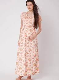 buy uzazi pink maternity nightwear for women online india best