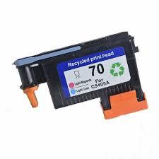 hp 70 light magenta 1x compatible hp 70 light cyan light magenta c4905a printhead for