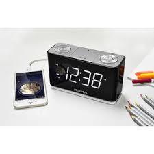 clock radio with night light itoma cks507 clock radio with fm radio dual alarm with snooze usb