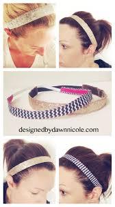 non slip headbands diy women s no slip headbands
