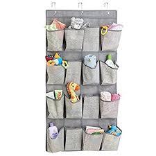Over Door Closet Organizer - amazon com mdesign fabric baby nursery closet organizer for