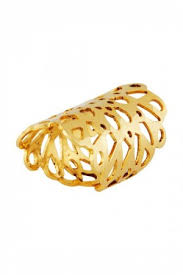 long gold rings images Rings gold plated long finger ring aza fashions jpg