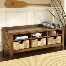 entryway storage bench with cushion u2013 floorganics com