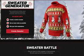 christmas sweater maker roody originals