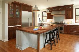 Cabinet Hoods Wood Charleston Butcher Block Kitchen Traditional With Range Hood