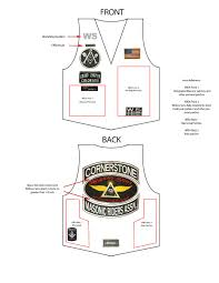 best jackets for bikers biker vest patch placement motorcycle garage pinterest