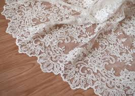 corded lace fabric on sales quality corded lace fabric supplier