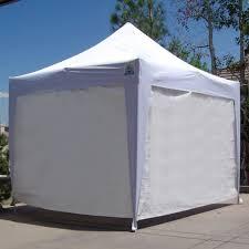 10x10 Canopy Tent Walmart by Undercover U0026reg 10 X 10 Ft Zippered Wall Enclosure Walmart Com