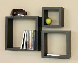 furniture diy floating wall shelves wooden wall shelf unit for