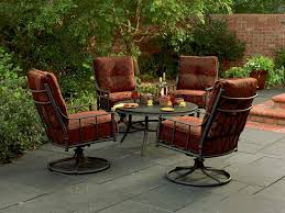 Patio Table And Chair Set Patio Furniture Small Metal Patio Table And Chairsblack Chairs