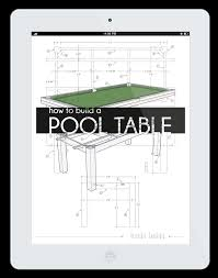 build a pool table how to build a pool table book the ultimate plans to build a