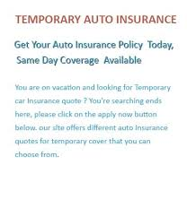 Car Insurance Estimates By Model by One Day Car Insurance Auto Insurance Quotes For 1 Day