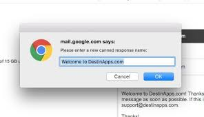 five steps to setup and use gmail canned response email templates
