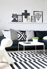 Wohnzimmer Design Schwarz Wohnzimmer Farben U2013 Bilden Sie Schöne Kontraste In Schwarz Weiß
