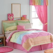 Pink Striped Comforter 100 My Room Polyvore