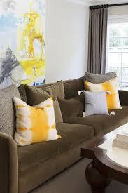 Sofa With Pillows Chocolate Brown Sofa Design Ideas
