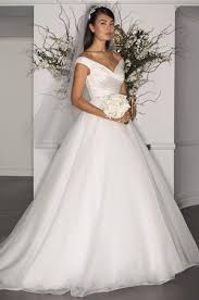 silk fit and flare wedding dress kleinfeld bridal wedding dresses search results