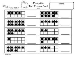 math worksheets pumpkin math worksheets kindergarten free math