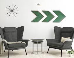 chevron wall decor etsy
