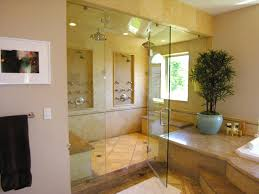 Large Bathroom Showers This Expansive Master Bathroom Features A Luxuriously Large