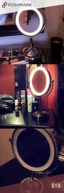 conair lighted vanity mirror 8 conair oval shaped double sided lighted makeup mirror top 10