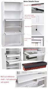 Kitchen Cabinet Doors Wholesale Suppliers by China Full Height Best Price Steel Tambour Roller Shutter Storage