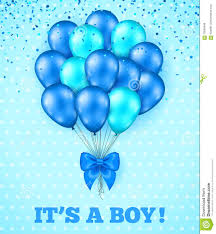 baby boy baby shower it s a boy baby shower background stock vector illustration of