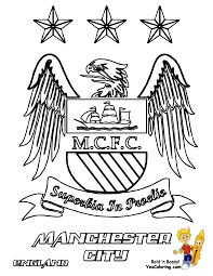 manchester city football soccer kids activity colouring