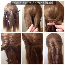 How To Do Easy Hairstyles Step By Step by Cute And Easy Hair Design Created By French Poppy Design W