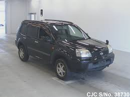 nissan x trail for sale 2003 nissan x trail black for sale stock no 38730 japanese
