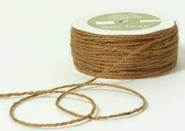 rustic ribbon twisted burlap hessian jute bow craft gift wrap string rustic rope