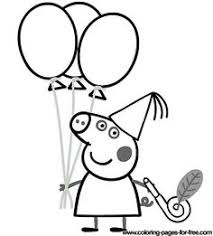 peppa pig colouring pages counts craft