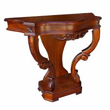 victorian style side table victorian side table mahogany console 189 00